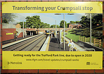 SD8402 : Transforming Crumpsall Metrolink Station by David Dixon