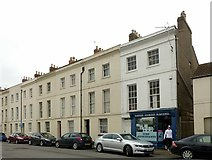 SO8318 : Oxford Street, Gloucester, east side looking north by Alan Murray-Rust