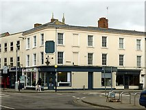 SO8318 : Corner of Northgate and Worcester Streets, Gloucester by Alan Murray-Rust