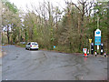 SX8374 : Stover Country Park - access and parking ticket machines by Chris Allen