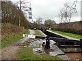 SJ9799 : Lock 8W on the Huddersfield Narrow Canal by Graham Hogg