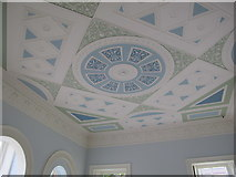 TQ1780 : Ceiling, Upper Drawing Room, Pitzhanger Manor, Ealing by David Hawgood