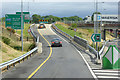 S5814 : Northbound N25 (Waterford Bypass), Exit W1 by David Dixon
