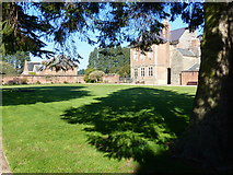 ST2885 : Tree, shadows and the house, Tredegar Park, Newport by Ruth Sharville