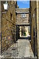 SP0937 : Passageway beside the Lygon Arms by Philip Halling