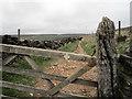 SK0289 : Bridleway Gate by Stephen Burton