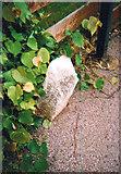TQ3473 : Old Boundary Marker by Milestone Society