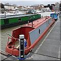 SO8218 : Moorings, Victoria Dock, Gloucester by Rudi Winter