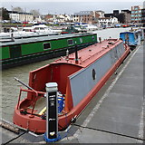 SO8218 : Moorings, Victoria Dock, Gloucester by Rudi Winter