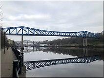 NZ2463 : Queen Elizabeth II Bridge by David Robinson