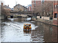 SE3032 : Leeds water taxi (1) by Stephen Craven