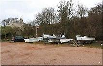NO4202 : Boats in car park! by Bill Kasman