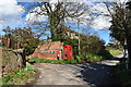 TM2335 : Out-dated communications infrastructure at Shotley Church End by Simon Mortimer