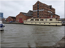 SO8218 : Alexandra Warehouse, Gloucester Docks by Rudi Winter