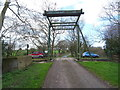 SJ5137 : Tilstock Park Lift Bridge No 42, Llangollen Canal by JThomas