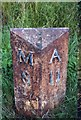 NZ1797 : Old Milepost by IA Davison