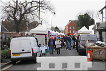 SJ3787 : Lark Lane Farmers' Market by Bill Boaden