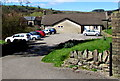 ST1190 : Church car park in Senghenydd by Jaggery
