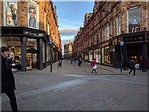 SE3033 : Pedestrianised George Street, Leeds by Rob Purvis