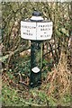 SJ8838 : Old Milemarker by Trent and Mersey Canal, near Barlaston by Milestone Society