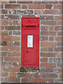 TG3422 : Victorian Post box on Berry Hall Road, Pennygate by Adrian S Pye