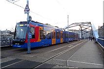SK3587 : Sheffield Supertram, Park Square Roundabout, Sheffield by JThomas