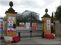 SK5639 : Gateway into Nottingham Castle grounds by Alan Murray-Rust