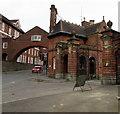SU1868 : Entrance to Marlborough College by Jaggery