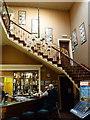 SJ7509 : Dog-leg staircase in Decker Hill House by Richard Law