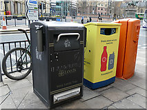 SE2933 : Waste and recycling facility outside Leeds railway station by Stephen Craven