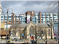 SE2933 : Mill Hill Chapel and City Exchange, City Square, Leeds by Stephen Craven