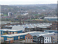 SE2932 : Roof of Temple Mills, Leeds by Stephen Craven