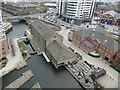 SE2933 : River Lock, Leeds by Stephen Craven