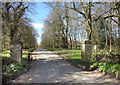 SP3715 : Road to Wilcote Manor by Des Blenkinsopp