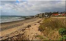 NO4202 : Lower Largo beach by Bill Kasman