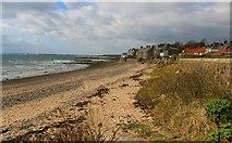 NO4202 : Lower Largo beach by Bill Kasman