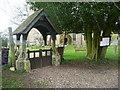 TL2320 : The lychgate, Knebworth Church by Humphrey Bolton