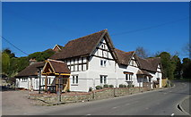 SO5793 : The Feathers, Brockton by JThomas