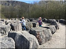 SK3455 : Fun among the stones by Graham Hogg