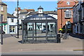 TF4575 : Glass shelter, South Street, Alford by M J Roscoe