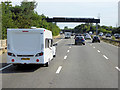 SX9589 : Northbound M5 near to Countess Wear by David Dixon
