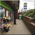 SP3163 : My Coffee Station, Co-operative Food, Cressida Close, Heathcote, Leamington by Robin Stott