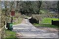 ST1485 : Road closed to vehicles, near Cwm Farm by M J Roscoe