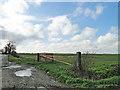 TF9407 : Field gate off Bradenham Road by Adrian S Pye