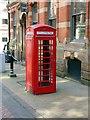 SK5739 : K6 telephone kiosk, Broadway, Nottingham by Alan Murray-Rust