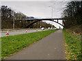 SJ4997 : East Lancashire Road, Windle Hall Bridge by David Dixon