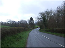 SO3918 : Old Ross Road (B4521) towards Skenfrith by JThomas