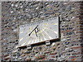 TM4899 : Sundial on St. Mary's Church by Adrian Cable