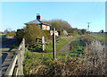 TA1844 : Rail Trail at Wassand Low Crossing by Des Blenkinsopp