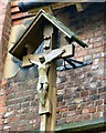 SJ9395 : St Anne's Crucifix by Gerald England
